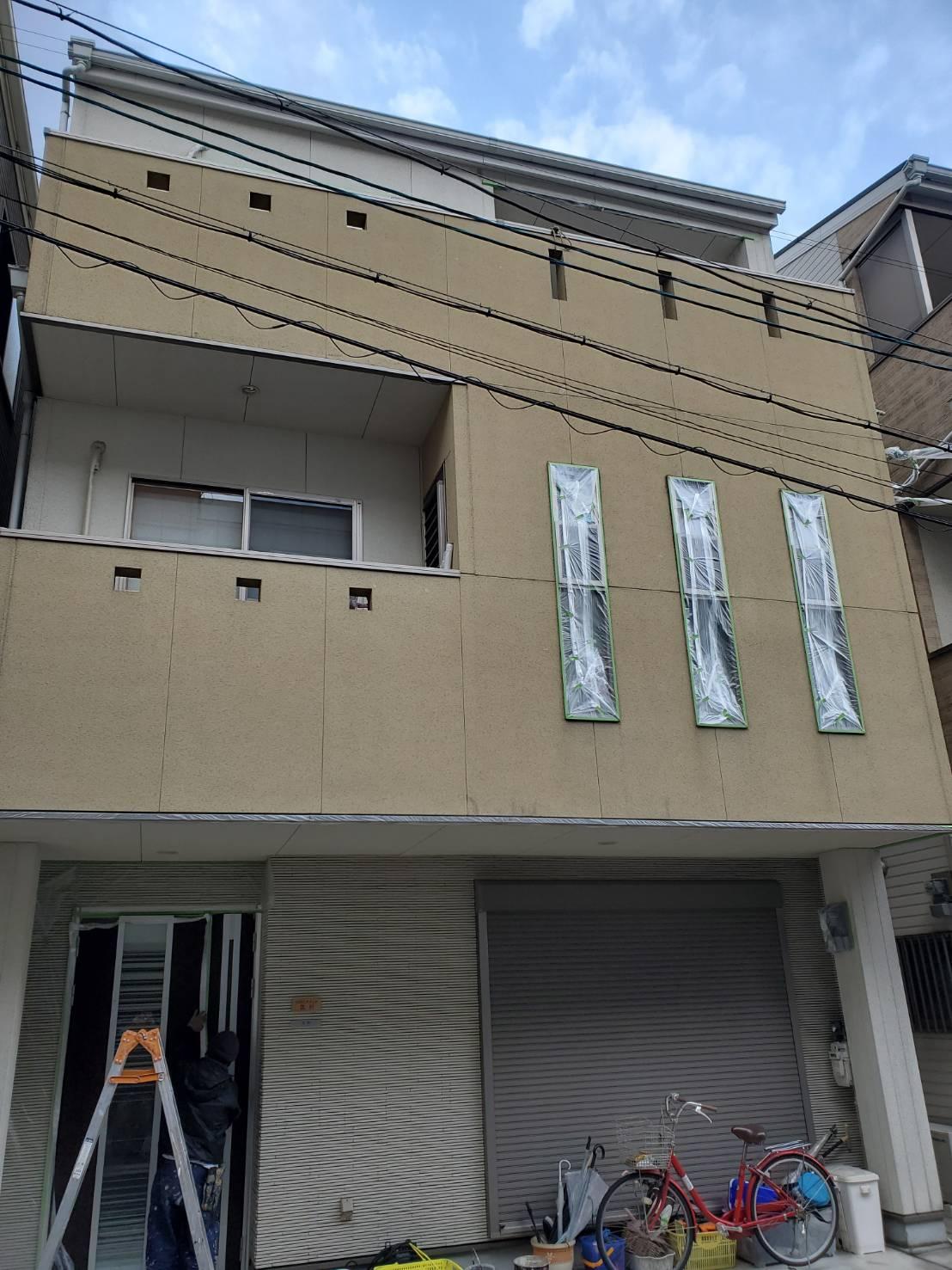 外壁塗装の工事前